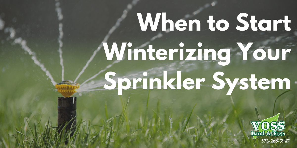 When to Start Winterizing Your Sprinkler System